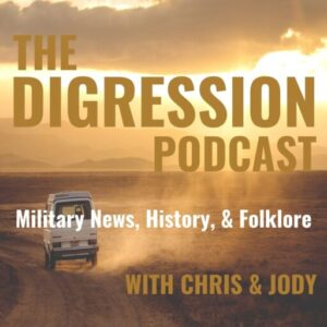 The Digression Podcast Show Art