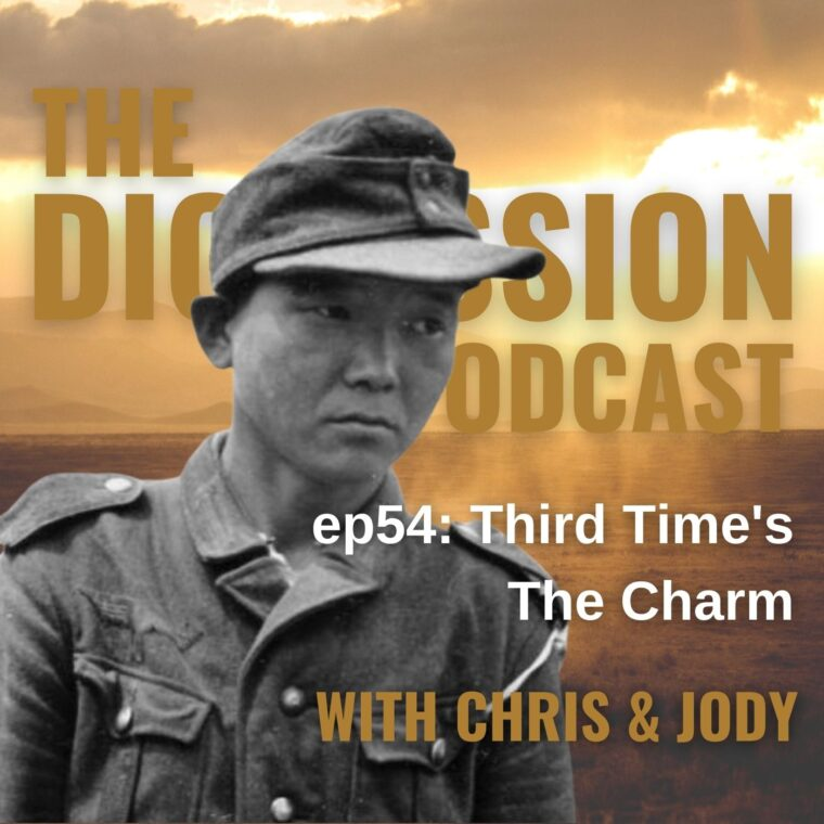 Episode 54 Cover Art - The Digression Podcast
